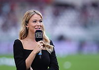 TORINO ITALY- October 2 <br /> Stadio Olimpico Grande Torino<br /> Diletta Leotta Ancor Woman of DAZN<br /> during the Serie A match between Fc  Torino and Juventus Fc at Stadio Olimpico on October 2, 2021 in Torino, Italy.