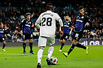 Real Madrid's Vinicius Jr. during Copa Del Rey match between Real Madrid and CD Leganes at Santiago Bernabeu Stadium in Madrid, Spain. January 09, 2019. (ALTERPHOTOS/A. Perez Meca)