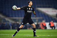 3rd January 2021; Dragao Stadium, Porto, Portugal; Portuguese Championship 2020/2021, FC Porto versus Moreirense; Agustín Marchesín of FC Porto throws the ball out to his defenders