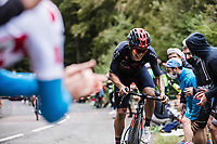 Richard Carapaz (COL/Ineos Grenadiers) up the Col de Marie Blanque<br /> <br /> Stage 9 from Pau to Laruns 153km<br /> 107th Tour de France 2020 (2.UWT)<br /> (the 'postponed edition' held in september)<br /> ©kramon
