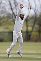 South Woodford with a big appeal for a wicket during Rainham CC (batting) vs South Woodford CC, Hamro Foundation Essex League Cricket at Spring Farm Park on 1st May 2021