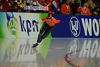 SPEEDSKATING: ERFURT: 19-01-2018, ISU World Cup, 1000m Ladies A Division, Letitia de Jong (NED), photo: Martin de Jong