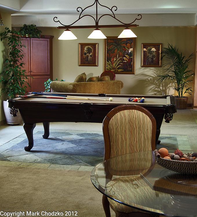 Recreation Room. New home model for Anastasi Development.