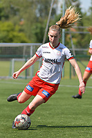 Laura Vervacke (20) of Zulte Waregem  pictured during a female soccer game between SV Zulte - Waregem and White Star Woluwe on the 10 th and last matchday in play off 2 of the 2020 - 2021 season of Belgian Scooore Womens Super League , saturday 29 of May 2021  in Zulte , Belgium . PHOTO SPORTPIX.BE | SPP | DIRK VUYLSTEKE