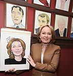 Sardi's Caricature Unveiling for Kate Burton