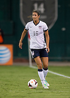 Yael Averbuch. The USWNT defeated Mexico, 7-0, during an international friendly at RFK Stadium in Washington, DC.  The USWNT defeated Mexico, 7-0.
