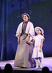 Jennifer Sanchez and Mattea Conforti during the opening night performance curtain call bows for 'Sunday in the Park with George' at the Hudson Theatre on February 23, 2017 in New York City.
