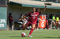 STANFORD, CA - SEPTEMBER 12: Mia Watanabe during a game between Loyola Marymount University and Stanford University at Cagan Stadium on September 12, 2021 in Stanford, California.