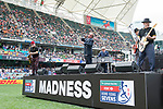 Madness' performanceduring the HSBC Hong Kong Rugby Sevens 2017 on 08 April 2017 in Hong Kong Stadium, Hong Kong, China. Photo by Marcio Rodrigo Machado / Power Sport Images