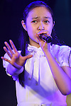 Koyoi Momooka, Jan 26, 2015 : Japanese teen girls idol group Idolrenaissance perform their new single at Akihabara Theater, Tokyo, Japan. With 7 members aged between 13 and 18 Idolrenaissance was launched by Sony Music in 2014. (Photo by Sho Tamura/AFLO SPORT)