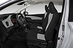 Front seat view of 2018 Toyota Yaris Y-oung 3 Door Hatchback Front Seat  car photos