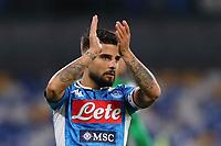 Lorenzo Insigne of Napoli greets <br /> Napoli 09-11-2019 Stadio San Paolo <br /> Football Serie A 2019/2020 <br /> SSC Napoli - Genoa CFC<br /> Photo Cesare Purini / Insidefoto