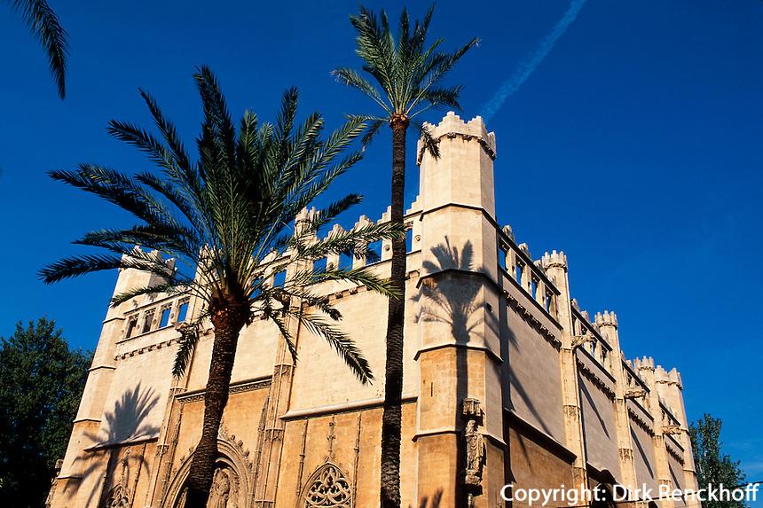 ehemalige Börse La Llotja in Palma de Mallorca, Mallorca, Spanien