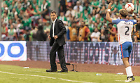 Mexico City, Mexico - Sunday June 11, 2017: Juan Carlos Osorio during a 2018 FIFA World Cup Qualifying Final Round match with both men's national teams of the United States (USA) and Mexico (MEX) playing to a 1-1 draw at Azteca Stadium.