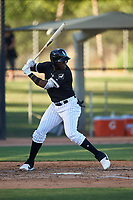 AZL White Sox Bryan Ramos (10) at bat during an Arizona League game against the AZL Royals at Camelback Ranch on June 19, 2019 in Glendale, Arizona. AZL White Sox defeated AZL Royals 4-2. (Zachary Lucy/Four Seam Images)