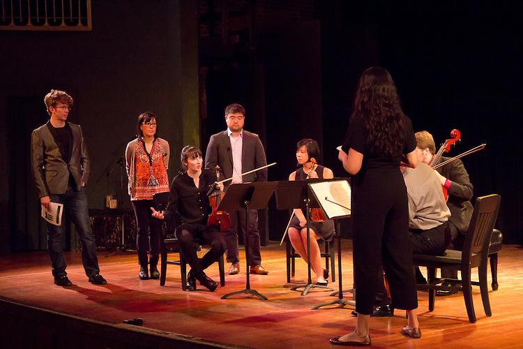 Port Townsend, Centrum, Chamber Music Workshop, June 16-21 2015, Fort Worden, Wheeler Theater, Enso Quartet, Joshua Roman, musicians teaching workshop artists, Quartet Elektra, Pacific Northwest, Washington State,