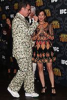 """LOS ANGELES, CA - JANUARY 07: Will Ferrell, Kristen Wiig arriving at the Los Angeles Screening Of IFC's """"The Spoils Of Babylon"""" held at the Directors Guild Of America on January 7, 2014 in Los Angeles, California. (Photo by Xavier Collin/Celebrity Monitor)"""