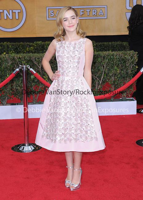 Kiernan Shipka at 19th Annual Screen Actors Guild Awards® at the Shrine Auditorium in Los Angeles, California on January 27,2013                                                                   Copyright 2013 Hollywood Press Agency