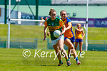 Niamh Carmody, Kerry in action against Roisin Looney, Clare in the Lidl Ladies National Football League Division 2A Round 2 at Austin Stack Park, Tralee on Sunday.
