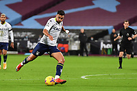 Mahmoud Hassan of Aston Villa during West Ham United vs Aston Villa, Premier League Football at The London Stadium on 30th November 2020