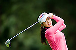 Shin-Ae Ahn of Korea in action during the Hyundai China Ladies Open 2014 Pro-am on December 10 2014 at Mission Hills Shenzhen, in Shenzhen, China. Photo by Xaume Olleros / Power Sport Images