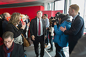 Ed Balls MP.  Labour Party general election campaign launch, Stratford, London.