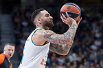 Real Madrid Jeffery Taylor during Turkish Airlines Euroleague match between Real Madrid and FC Barcelona Lassa at Wizink Center in Madrid, Spain. December 14, 2017. (ALTERPHOTOS/Borja B.Hojas)