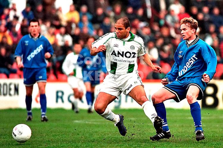 groningen - emmen 5-0 nacompetitie eerste divisie seizoen 1999-2000 24-05-2000 hugo