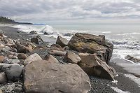 Cape Fairweather, Gulf of Alaska, Pacific ocean coast, Glacier Bay National Park, Southeast, Alaska