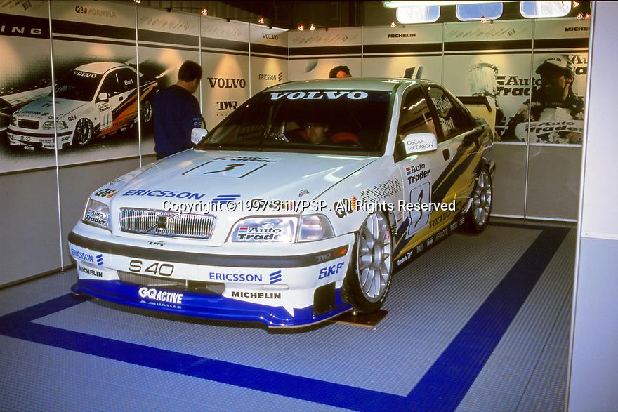 1997 British Touring Car Championship. #3 Rickard Rydell (SWE). Volvo S40 Racing. Volvo S40.
