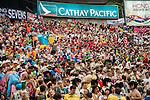 General view during the Cathay Pacific / HSBC Hong Kong Sevens at the Hong Kong Stadium on 29 March 2014 in Hong Kong, China. Photo by Juan Flor / Power Sport Images