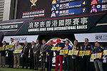 SHA TIN,HONG KONG-DECEMBER 08: 12-08-16 LONGINES Hong Kong Sprint Barrier Draw at Sha Tin Racecourse on December 8,2016 in Sha Tin,New Territories,Hong Kong (Photo by Kaz Ishida/Eclipse Sportswire/Getty Images)