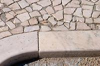 marble paving borba alentejo portugal