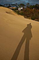 Europe/France/Aquitaine/33/Gironde/Bassin d'Arcachon/ La Teste-de-Buch: Dune du Pilat - Autoportrait