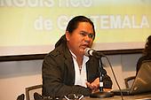 Washington DC, USA. Chico Vive conference, 5th April 2014. Ernesto Tzi.