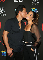 WEST HOLLYWOOD, CA - SEPTEMBER 13: Mario Lopez, Courtney Lopez, at the LA Premiere Screening Of I Love Us at Harmony Gold in West Hollywood, California on September 13, 2021. Credit: Faye Sadou/MediaPunch