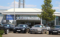Car dealers showrooms can re-open in England tomorrow, 1st June, if they are COVID safe, following the Government's easing of restrictions to kickstart the economy.May 31st 2020<br /> <br /> Photo by Keith Mayhew