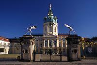Charlottenburg Castle, Berlin, Germany, Europe, Schloss Charlottenburg