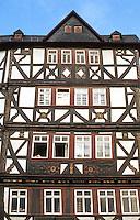 Butzbach: Marktplatz Facade.