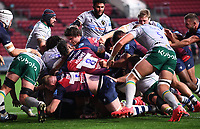 8th September 2020; Ashton Gate Stadium, Bristol, England; Premiership Rugby Union, Bristol Bears versus Northampton Saints; Harry Thacker of Bristol Bears scores a try at the back of the rolling maul