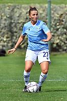 11th September 2021;  Mirko Fersini Stadium, Rome, Italy ; Serie A Womens championship football, Lazio versus Milan ; Margot Gambarotta of SS Lazio Woman