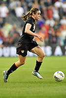 USWNT midielder Heather O'Reilly (9) in action.