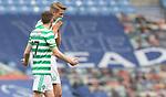 02.05.2021 Rangers v Celtic: Kris Ajer and Ryan Christie dejection