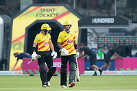 Alex Hales and D'Arcy Short open the batting for the Trent Rockets during London Spirit Men vs Trent Rockets Men, The Hundred Cricket at Lord's Cricket Ground on 29th July 2021