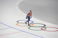 OLYMPIC GAMES: PYEONGCHANG: 17-02-2018, Gangneung Oval, Long Track, Training session, Ronald Mulder (NED), ©photo Martin de Jong