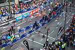 © Joel Goodman - 07973 332324 . 22/05/2016 . Manchester , UK . Start of the race at the foot of Portland Street . The Great Manchester Run in Manchester City Centre . Photo credit : Joel Goodman