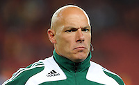 Referee Howard Webb. Iraq and New Zealand tied 0-0 during the FIFA Confederations Cup at Ellis Park Stadium in Johannesburg, South Africa on June 20, 2009..
