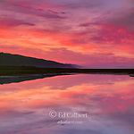 Dawn, Tidepool, Stinson Beach State Park, Golden Gate National Recreation Area, Marin County, California