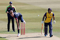 Fred Klaassen bowls for Kent during Kent Spitfires vs Essex Eagles, Vitality Blast T20 Cricket at The Spitfire Ground on 18th September 2020