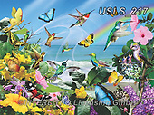 Lori, REALISTIC ANIMALS, REALISTISCHE TIERE, ANIMALES REALISTICOS, zeich, paintings+++++Hummingbirds At The Beach_72_12in_Sunsout_2020,USLS217,#a#, EVERYDAY ,puzzle,puzzles